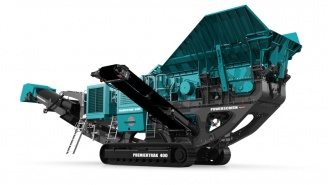 Powerscreen mobile Brechanlage Premiertrak-400