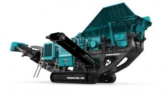 Powerscreen mobile Brechanlage Premiertrak-400
