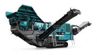 Powerscreen mobile Brechanlage Trakpactor-320